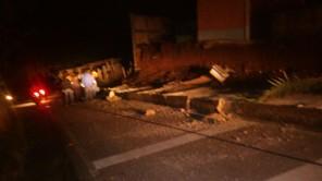 Se registra el colapso de muros perimetrales en, Huehuetenango